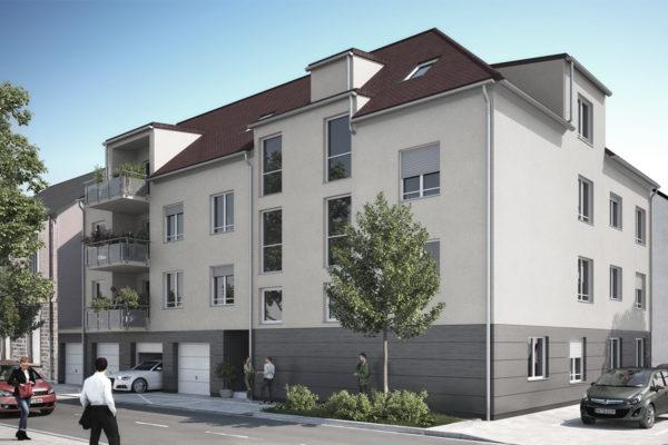 Mehrfamilienhaus in Rastatt, Markgrafenstraße